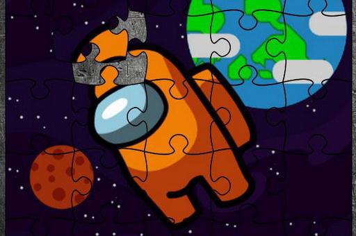 Image Among Space Jigsaw