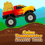 Coins Transporter Monster Truck