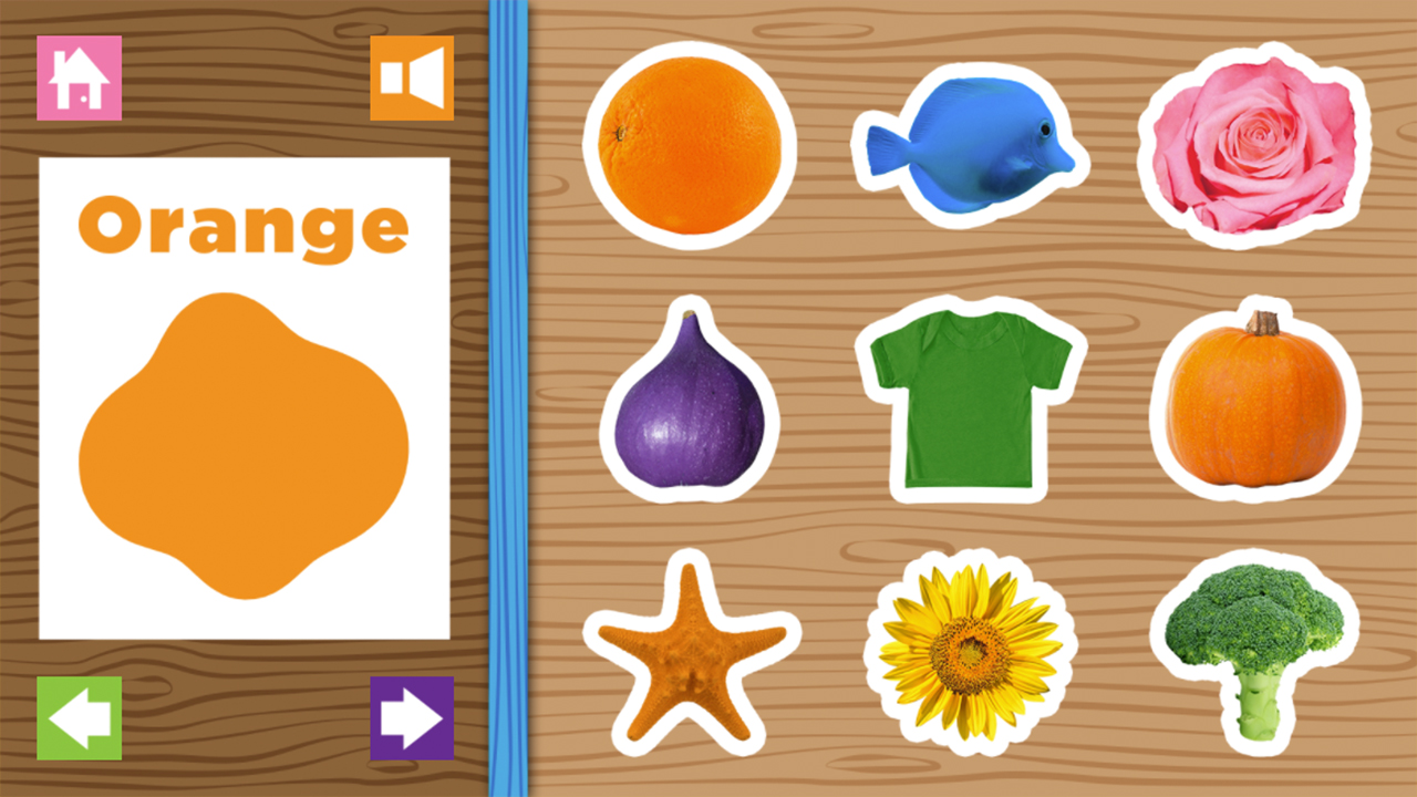 Image Colors Game
