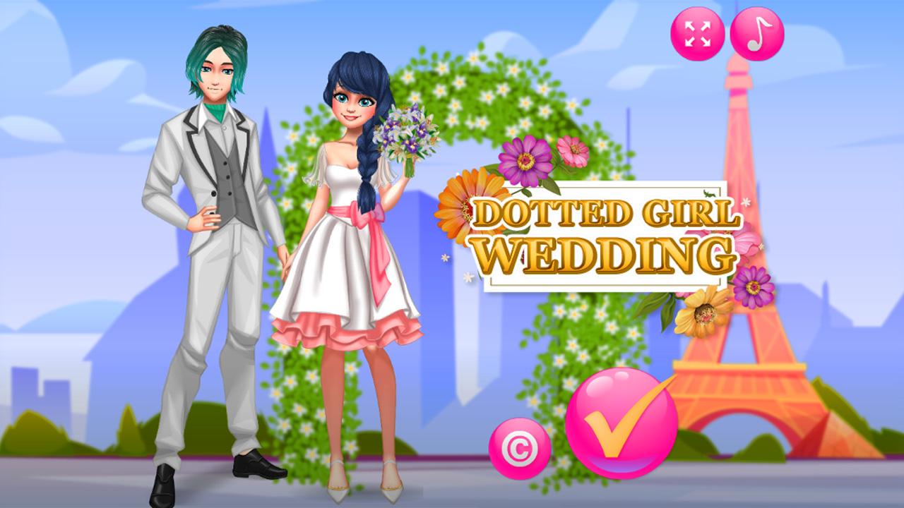 Image Dotted Girl Wedding