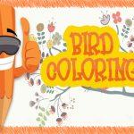 EG Birds Coloring