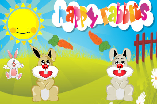 Image Happy Rabbits
