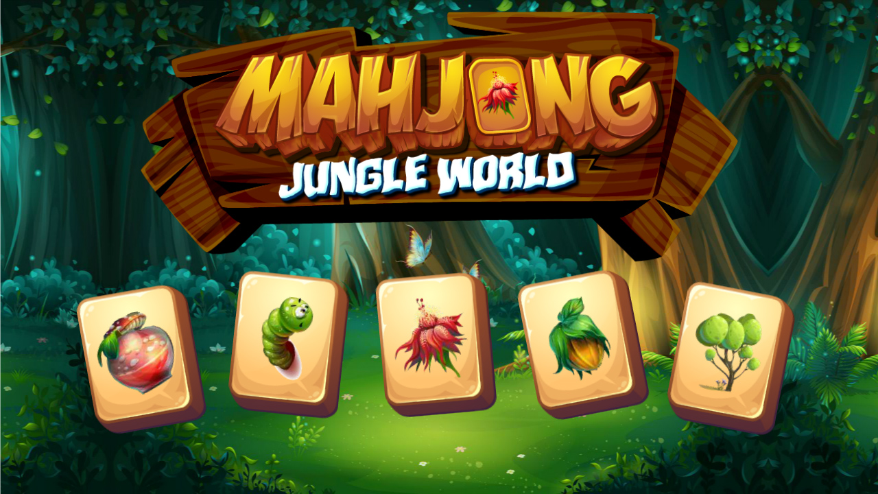 Image Mahjong Jungle World
