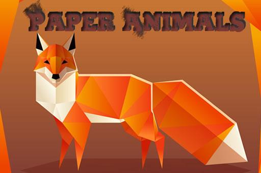 Image Paper Animals Pair