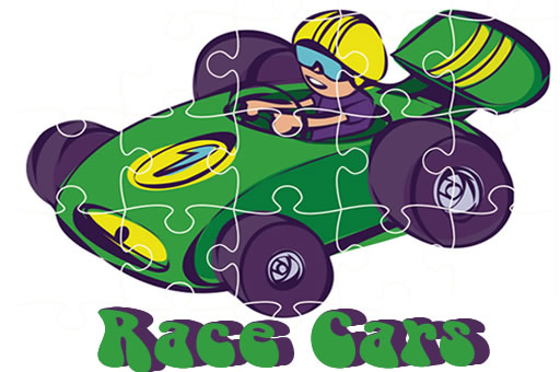 Image Race Cars Jigsaw