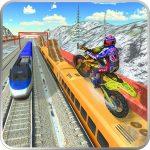 Trail Bike Vs Train Race