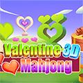 Valentine 3D Mahjong
