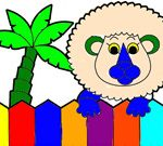 Coloring Book: Zoo Animals