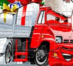 Santa Trucks Jigsaw