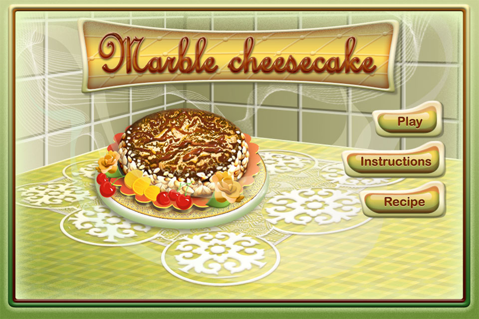 Image Marble cheesecake