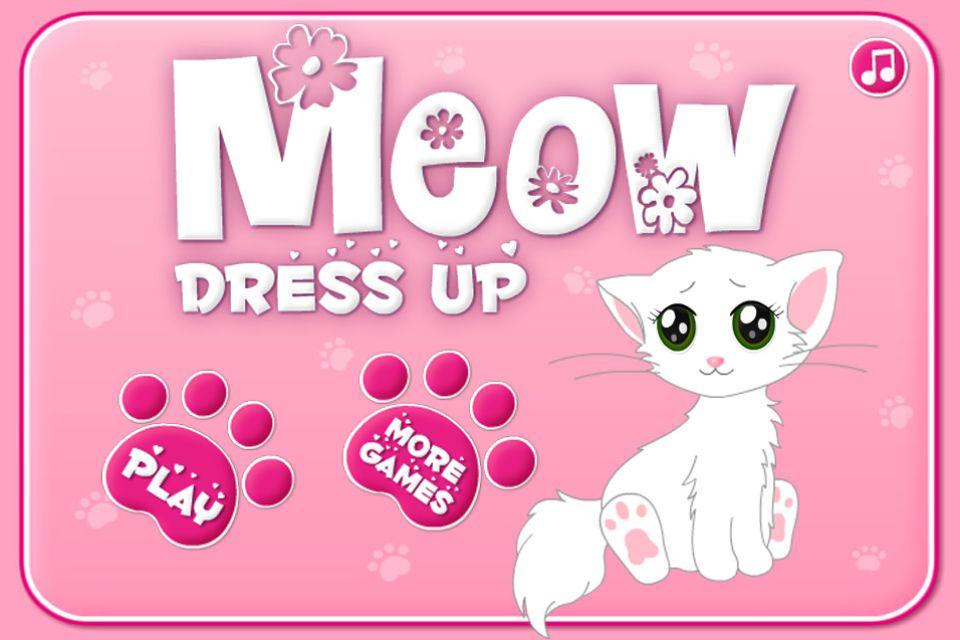Image Meow Dress Up