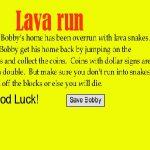 Lava Run