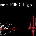 Pong style Undertale battle